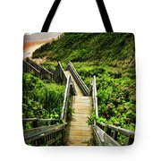 Block Island Tote Bag by Lourry Legarde