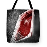 Bloody Bathtub Tote Bag by Wim Lanclus