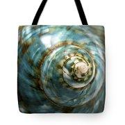 Blue Seashell Tote Bag by Fabrizio Troiani