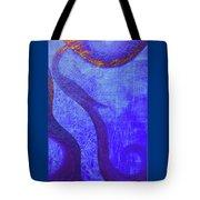 Blue Seed Tote Bag by Ishwar Malleret