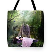 Bluebell Dreams Tote Bag by Mary Hood