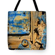 Blues Dues Tote Bag by Skip Hunt