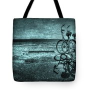 Bluescape Tote Bag by Evelina Kremsdorf