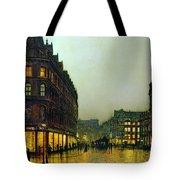Boar Lane Tote Bag by John Atkinson Grimshaw