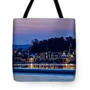 Boat House Row Tote Bag by John Greim