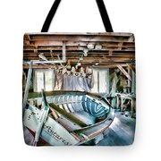 Boathouse Tote Bag by Heather Applegate