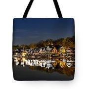 Boathouse Row Tote Bag by John Greim