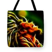Bob Marley Tote Bag by Pamela Johnson