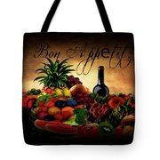 Bon Appetit Tote Bag by Lourry Legarde