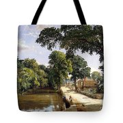 Bonchurch Isle Of Wight Tote Bag by Jasper Francis Cropsey
