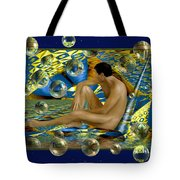Book of dreams Tote Bag by Kurt Van Wagner