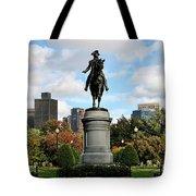 Boston Common Tote Bag by DJ Florek