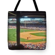 Boston Fenway Park Tote Bag by Juergen Roth