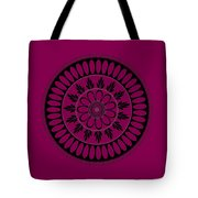 Botanical Ornament Tote Bag by Frank Tschakert