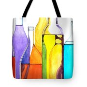 Bottled Rainbow 1 Tote Bag by Jun Jamosmos