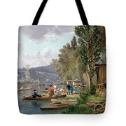 Bougival Tote Bag by Emile-Edme Laborne