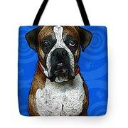 Boxer Tote Bag by Bibi Romer