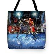 Boxing Night Tote Bag by Murphy Elliott