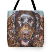 Boykin Spaniel Tote Bag by Lee Ann Shepard