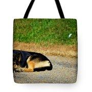 Breaktime Tote Bag by Teresa Mucha