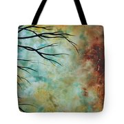 Breathless 3 By Madart Tote Bag by Megan Duncanson