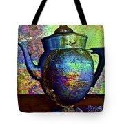 Brewing Nostalgia Tote Bag by Gwyn Newcombe
