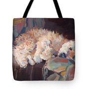Brie As Odalisque Tote Bag by Kimberly Santini