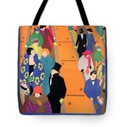 Brightest London Is Best Reached By Underground Tote Bag by Horace Taylor