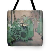 British Industries - Cotton Tote Bag by Frederick Cayley Robinson