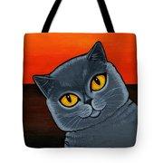 British Shorthair Tote Bag by Leanne Wilkes