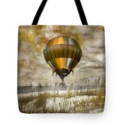 Bronze Beach Ballooning Tote Bag by Betsy C  Knapp