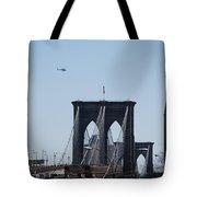 Brooklyn Bridge Tote Bag by Rob Hans