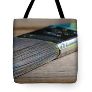 Brush Work Tote Bag by Lisa Knechtel