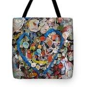 Bubblegum Love Tote Bag by Tim Allen