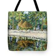 Buccaneer Island Tote Bag by Danielle  Perry