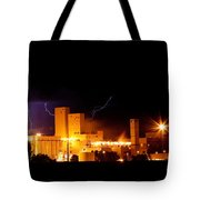 Budwesier Brewery Lightning Thunderstorm Image 3918 Tote Bag by James BO  Insogna
