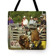 Bull Rider Tote Bag by Phyllis Britton
