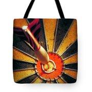 Bulls eye Tote Bag by John Greim