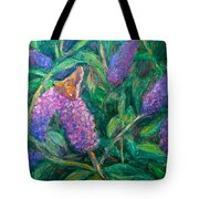 Butterfly View Tote Bag by Kendall Kessler
