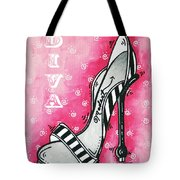 By Pink Design by MADART Tote Bag by Megan Duncanson