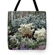 Cactus Field Tote Bag by Rebecca Margraf