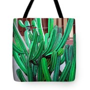 Cactus Fly By Tote Bag by Snake Jagger