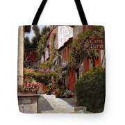 Cafe Bifo Tote Bag by Guido Borelli