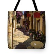 Cafe Piccolo Tote Bag by Guido Borelli
