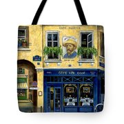 Cafe Van Gogh Tote Bag by Marilyn Dunlap