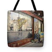 Cafe Victoria Tote Bag by Tomas Castano
