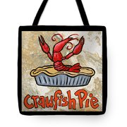 Cajun Trio Black Tote Bag by Elaine Hodges