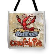 Cajun Trio White Tote Bag by Elaine Hodges