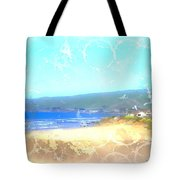 Cambria On The Pacific Tote Bag by Arline Wagner