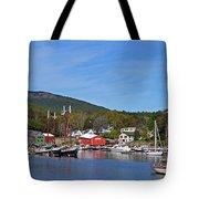 Camden Harbor Tote Bag by Corinne Rhode
